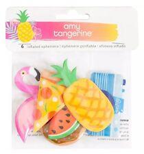 Amy Tangerine 6 Piece Inflated Ephemera Flamingo Pizza Donut American Crafts