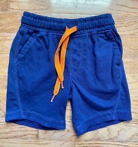 Little Boys Blue Orange Jersey Puma Drawstring SHORTS Size 4
