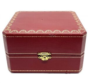 Vintage Authentic Cartier Red Wathch Box