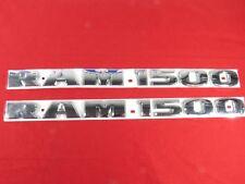 DODGE RAM 1500 CHROME EMBLEM BADGE NEW OEM MOPAR