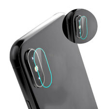 9H Premium Back Camera Lens Tempered Glass Protector Cover Film Set For iPhone X