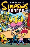 SIMPSONS COMICS #185 NEAR MINT (1st SERIES 1993) SERGIO ARAGONES COVER