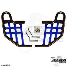 LTZ 400 LTZ400 Suzuki   Nerf Bars   Alba Racing   Black bar Blue nets  206 T1 BL