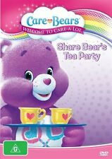 Care Bears - Welcome To Care-A-Lot - Share Bear's Tea Party (DVD, 2013)-REGION 4