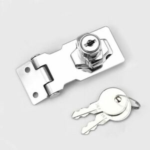 Drawer Cupboard Locks Padlock Hasp Lock Cam Lock Gate Latches Lock with Screws