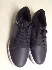 Mens Zoo York Black Trainers, Size 7 New Shop Clearance RRP £40