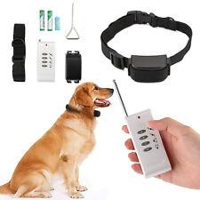 NEU Antibell Halsband Erziehungshalsband Ferntrainer Hunde Training Vibration DE