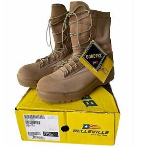 NIB Belleville 790V Desert Tan Gore-Tex Air Force Cert Combat Boots Men's 11.5 R