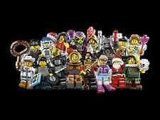 LEGO Rare Minifigures Series 8 CMF 100% Complete Full Set 8833