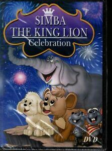 SIMBA THE KING LION CELEBRATION (thin case region free dvd )
