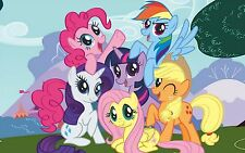 My little pony vinyl autocollant mural wall decals taille xl
