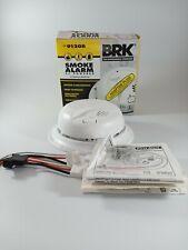 BRK 9120B  AC Powered Smoke Detector Alarm w/Battery Backup