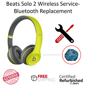 SERVICE REPAIR Beats by Dr. Dre Solo 2 2.0 Wireless Bluetooth Board Replacement