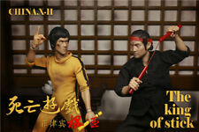 CHINA.X-H 1/6 Bruce Lee Action Figure Statue Limited Model IN STOCK Collection