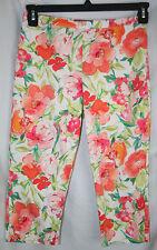 Womens Lauren by Ralph Lauren Floral Capri Pants – Size 4 - Great Pants! EUC!