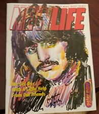 New Life 2002 Magazine Peter Max Ringo Starr Beatles
