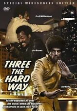 THREE THE HARD WAY Fred Williamson   Blaxplotation 70'S BLACK CLASSICS NEW DVD