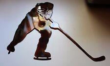 Hockey METAL WALL ART DECOR