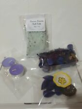 Gift Pack Lavender, Bath Salts, potpourri, incense, candles