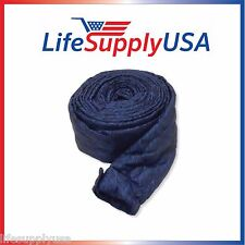 30 FT PADDED QUILTED BEAM ZIPPER CENTRAL 30FT VACUUM HOSE COVER SOCK VACSOCK