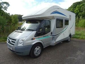 Chausson Flash 22 6 Berth 5 Seatbelts Drop Down Double Bed Motorhome For Sale