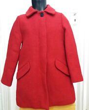 New Zara Girls Red Winter Coat Size 7 Years. 122 Cm