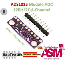 I2C ADS1015 12 Bit ADC 4 channel Module Programmable Gain Amplifier 2.0V to 5.5V