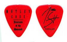 Motley Crue Nikki Sixx Signature Journals of the Damned Guitar Pick - 2009 Tour