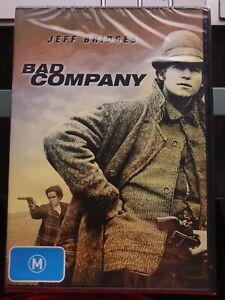 Bad Company : Jeff Bridges (DVD, 2015) Old Aus Stock : NEW+SEALED  RARE
