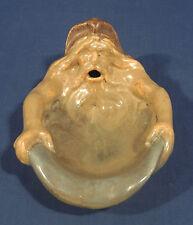 Vintage Antique Art Pottery Tray Greek Mythological God North Wind Norse