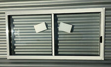 600h x 1210w BRAND NEW Aluminum Sliding window PEARL WHITE Clear Float IN STOCK