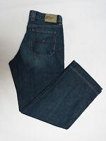 TOMMY HILFIGER Denim Herren Jeans W31 Ballpeen Retro Worn blau gekürzt W34 !29