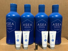 ASEA Water Redox Supplement 4 Bottles + 4 Renu28+USB FreeShipping Exp 06/2021