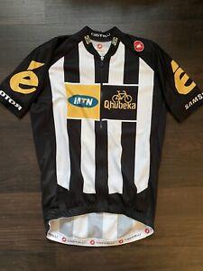 Castelli MTN Qhubeka Short sleeve jersey small Team Issue Tour de France