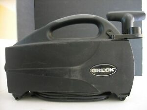 Oreck XL BB1100DB Cannister Type 3 Hand Vacuum with Hose and Attachment-Working