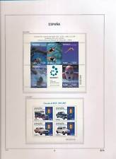 XC50126 Spain 2003 swimming sports old-timer cars sheets MNH