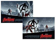 Avengers Endgame: Thor, Ironman, Hulk, Odeon Cimema A5 A4 A3 Movie DVD Posters