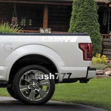 POWER UNLEASHED FORD Truck F150 F250 F350 Dually XLT XL 4x4 Decal sticker WHITE
