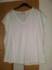 M & S 1 x Cotton Modal T-Shirt BNWT Ladder Stitch & 1 x Pocket T-Shirt Size 24