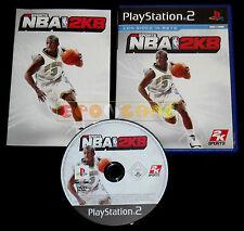 NBA 2K8 Ps2 Versione Ufficiale Italiana 1ª Edizione ••••• COMPLETO