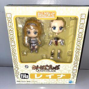 Sealed Reina Queen's Blade Authentic Nendoroid Good Smile Company Figure
