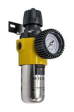 "1/2"" Air Compressor Filter Regulator Gauge Water Trap Separator Moisture Units"