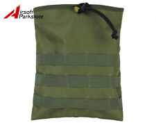 Tactical Military Airsoft Molle Belt Magazine Mag Dump Drop Pouch Bag Olive Drab