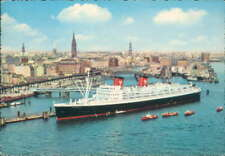 Hamburg Atlantic Line Hanseatic  card unposted