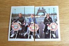 2 THE POLICE POP FESTIVAL STICKERS (BELGIUM) #68 &69 1980