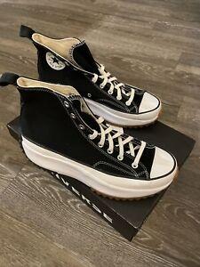 New Converse Run Star Hike Hi 166800C Black White Gum Men's Size 11 SHIP NOW