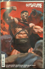 New ListingFuture State: Superman: Worlds Of War #1 R. Federici Cardstock Variant Cover