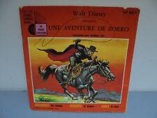 Livre Disque Enfant - Une Aventure de Zorro