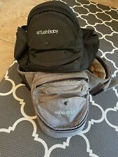 2 Tushbaby Baby Carrier, Black And Gray (lot Of 2) Great Condition