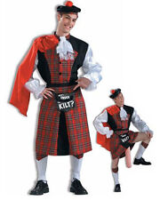 Men's What's Under the Kilt Costume Funny Humorous Costume Adult Size Standard